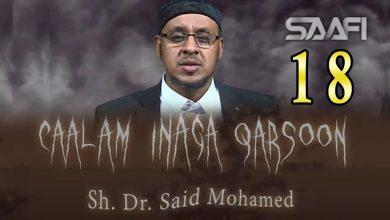 Photo of 18 Caalam inaga qarsoon (Jinka & shayaadhiinta) Sheekh Siciid Maxamed Faarax