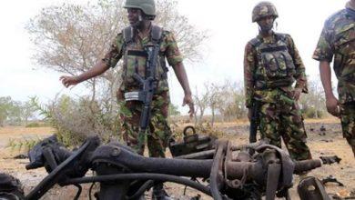 Photo of Al-Shabaab assassin killed, colleague escapes