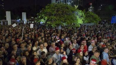 Photo of Tens of thousands of anti-Netanyahu Israelis protest in Tel Aviv
