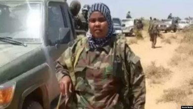 Photo of Somali Officer Remembered as Mother, Military Hero