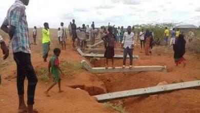 Photo of Border wall pulled down by Bula Hawa residents