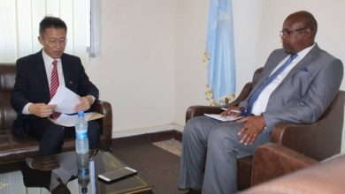 Photo of Director of Asia Department of the Ministry of Foreign Affairs of Somalia receives the Chinese Ambassador