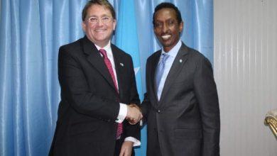 Photo of Somali FM And UK Ambassador Underscore The Depth Of Bilateral Relations