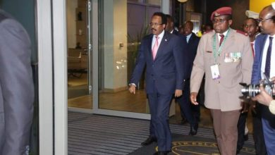 Photo of Somali President Arrives In South Africa