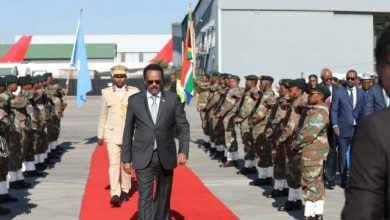 Photo of Somali President Concludes Three-Day Trip To South Africa