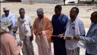 Photo of PM Khaire Inaugurates New Mosque In Mogadishu