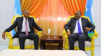 Photo of Somali PM Holds Meeting With Puntland President