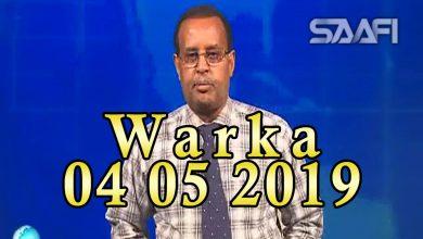 Photo of WARKA 04 05 2019 Al shabaab oo amaro ku soo rogay ganacsatada magaalada Muqdisho iyo amarkii dhaqan galay
