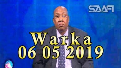 Photo of WARKA 06 05 2019 Hay'ad laga leeyahay dalka Norway oo sheegtay in abaaro xun ay ku soo fool leeyihiin Soomaaliya