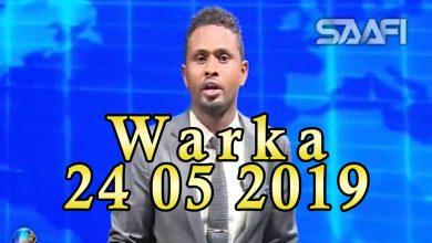 Photo of WARKA 24 05 2019 Madaxweyne Farmaajo iyo wefdi uu hogaaminayo oo u ambabaxay dalka Koofur Afrika