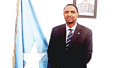 Photo of Embassy, community mark Somalia Independence Day