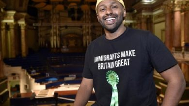 Photo of Newly-elected Yorkshire MEP and former Sheffield Mayor, Magid Magid, to attend Green Party conference at Scarborough Spa
