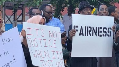 Photo of Ahead of sentencing, Noor supporters rally behind former Minneapolis police officer