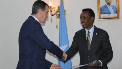 Photo of Somali Foreign Minister Receives Copy Of Credentials Of New EU Ambassador