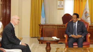 Photo of Somali President Meets With New UN Envoy In Mogadishu