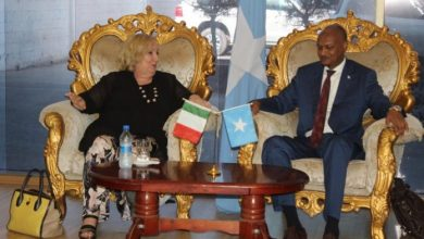 Photo of President Attends Somali National University Graduation Ceremony