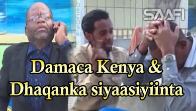 SHEEKO GAABAN Damaca Kenya iyo dhaqanka siyaasiga Soomaaliyeed