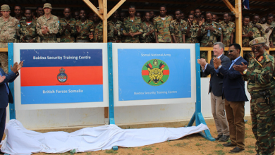 UK Opens Army Training Facility For Somali Forces