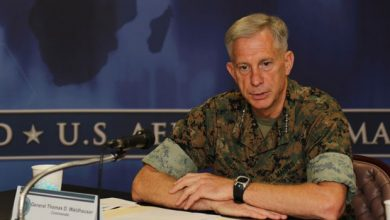 Photo of Top US Commander Visit Mogadishu, Affirms Support On The War Against Shabaab
