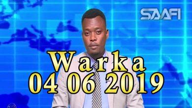 Photo of WARKA 04 06 2019 Ciidamada kala duwan ee booliiska Soomaaliyeed oo dhoolatus ka sameeyey wadooyinka magaalada Muqdisho