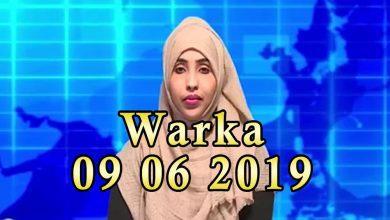 Photo of WARKA 09 06 2019 Ehelada askarigii la sheegay in uu isdeldelay oo sheegay in la dilay dowladana baaq u diray