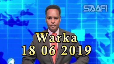 Photo of WARKA 18 06 2019 Shacabka Soomaaliyeed oo shaki ka qaaday in cudurka Ebola uu usoo raaco qaadka Kenya ka yimaada