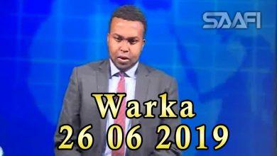 Photo of WARKA 26 06 2019 Ciidamada dowlada oo deegaano Al shabaab ay maamulayeen la wareegay