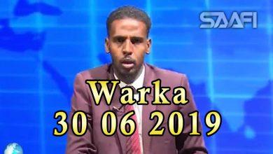WARKA 30 06 2019 Maxkamada racfaanka ee gobolka Nugaal oo dil ku xukuntay ragii dil iyo kufsi isugu daray Caaisha