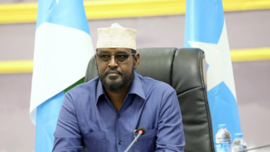 Photo of Jubaland Leader Holds Meeting With UN Envoy In Kismayo City