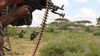Photo of Al-Shabaab Clash With Somali And AU Troops In Central Somalia