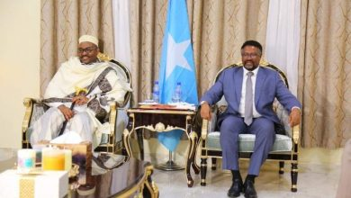 Photo of Somali Parliament Speaker Meets With Puntland President