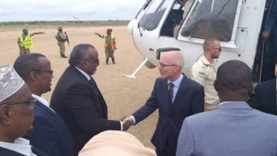 Photo of UN Envoy Arrives In Jowhar For His First Visit To HirShabelle State