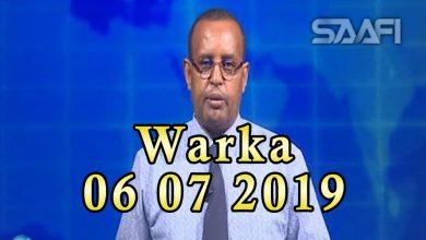WARKA 06 07 2019 Wasiir Cawad oo kulan la qaatay safiirada wadamadooda Soomaaliya ay joogaan