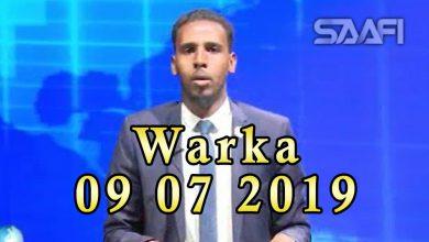 Photo of WARKA 09 07 2019 Faysal Cali Waraabe oo xukuumada Soomaaliland ku eedeeyey in ay diyaar y aheyn in doorasho dhacdo