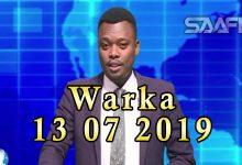 WARKA 13 07 2019 Dhimashada qaraxii magaalada Kismaayo oo sii korortay iyo madaxweyne Axmed Madoobe oo ka hadlay