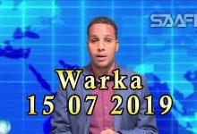 WARKA 15 07 2019 Xarun lagu keedinayo taariikhdi dalka Soomaaliya oo laga hirgeliyey magaalada Muqdisho