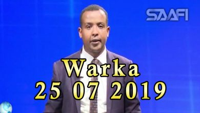 Photo of WARKA 25 07 2019 Faysal Cali Waraabe oo sheegay Soomaaliland in ay ceeb ku tahay xisbiyadeeda oo ajinabi dhex dhexaadinayo