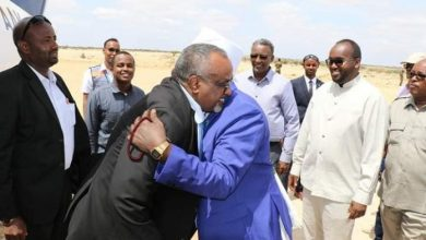 Photo of HirShabelle State Leader Arrives In Galmudug Capital
