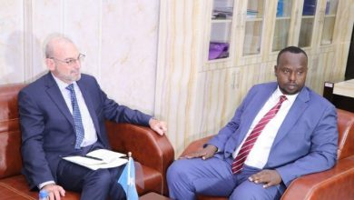 Photo of The New UN Envoy Holds Meeting With Somali Officials
