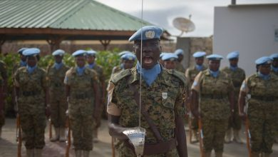 Photo of 500 UPDF soldiers attached to UN Guard Unit in Somalia return