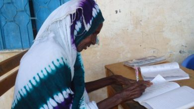 Photo of Somali women in Mogadishu IDP camps empowered by literacy programme