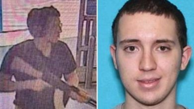 Photo of Texas Walmart shooting suspect 'wrote hate-filled racist manifesto' before massacre