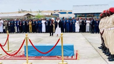 Photo of Late Mogadishu Mayor's Body Laid To Rest In State Funeral