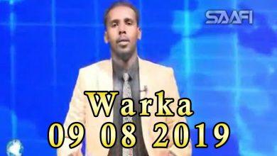 WARKA 09 08 2019 Gudoomiye Maxamed Mursal oo soo dhaweyn diiran ka helay jaaliyada Soomaaliyeed ee magaalada Cape Town