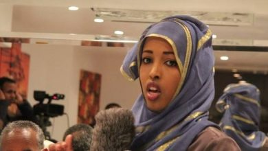 Photo of Somali journalist: 'I was the only female reporter in my city'