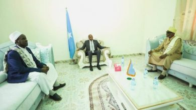 Photo of Somali PM Meets With Ahlu Sunna Leadership