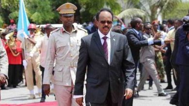 Photo of Somali President Heads To Central Town