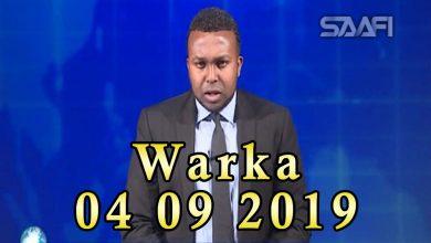 Photo of WARKA 04 09 2019 Soomaalida ku nool Koofur Afrika oo dareenkooda ka muujiyey xaalada ay ku suganyihiin