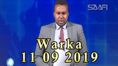 Photo of WARKA 11 09 2019 Dowlada Soomaaliya oo imtixaan u qabatay garsoorayaal tiro badan shaqo doon ah