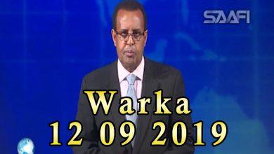 Photo of WARKA 12 09 2019 Axmed Madoobe oo sheegay in Amnesty looga baahna in ay ka hadasho dadkii lagu xasuuqay Baydhabo